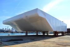 Projekt Mojsije/1. vrata za zaljev Malamocco spremna za isporuku/Brodosplit/FOTO Škveranka