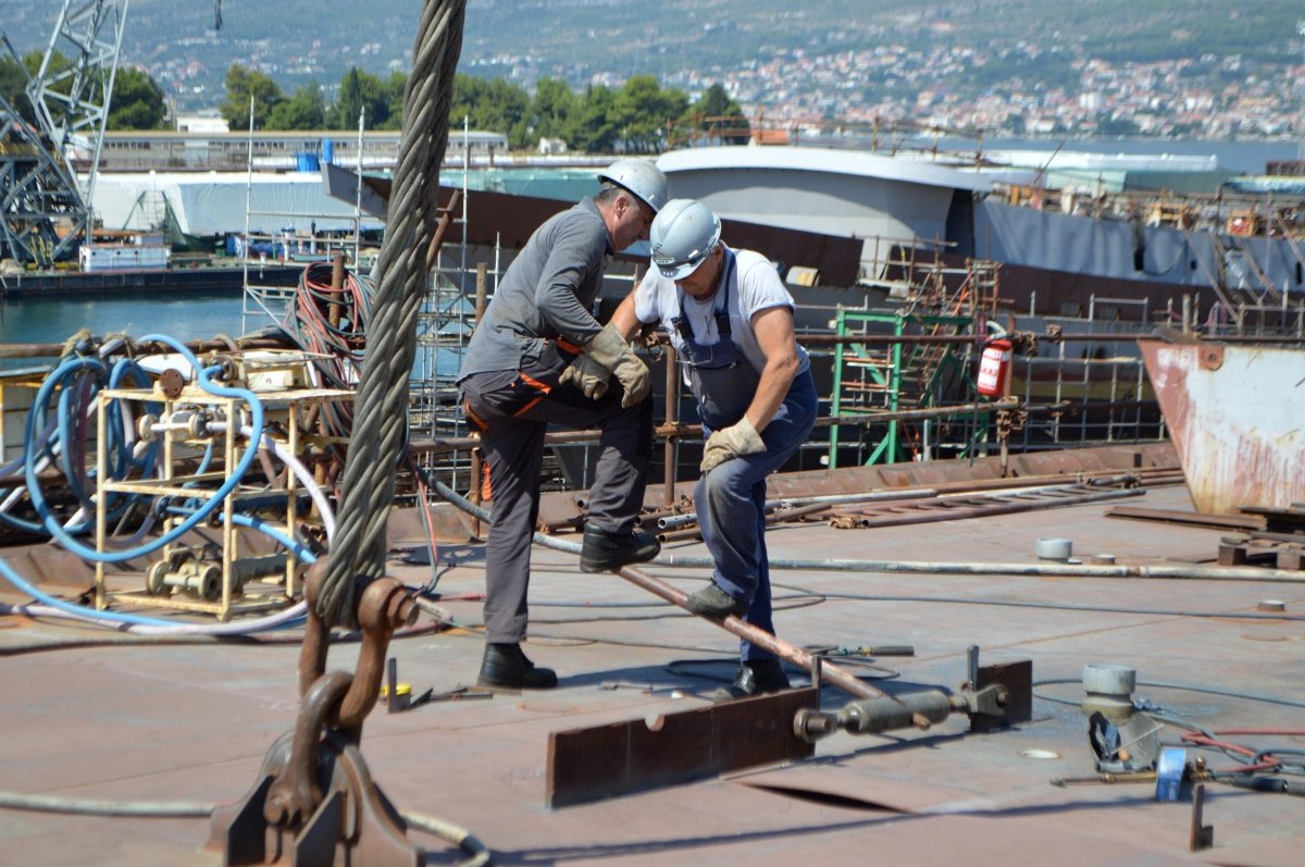 CROATIAN SHIPBUILDING IN 2016 - Contracts worth $1.9 BILLION