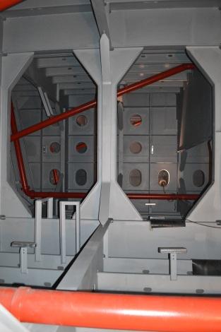Montirane cijevi unutar čeličnih brana za Veneciju