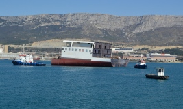 Brodosplit delivered 'Grand Blocks' for Fincantieri Group/Photo Škveranka/Brodosplit