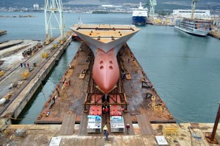 Brodosplit delivered 'Grand Blocks' for Fincantieri Group/Photo Škveranka/Brodosplit