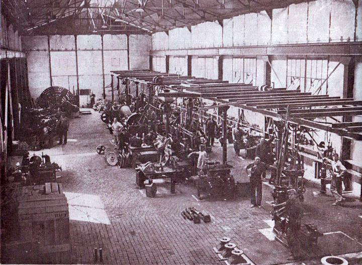 "Brodogradilište ""Split"" A.D. – radionica 1939."