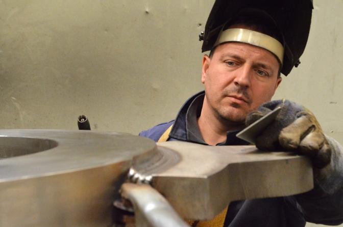 Brodosplit - Zavarivanje superduplexa MIG postupkom - FOTO Škveranka