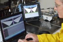 Laboratorij za KBR - Aparat za UZ ispitivanje metodom PA+TOFD