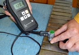 Laboratorij za KBR - UZ ispitivanje debljine materijala