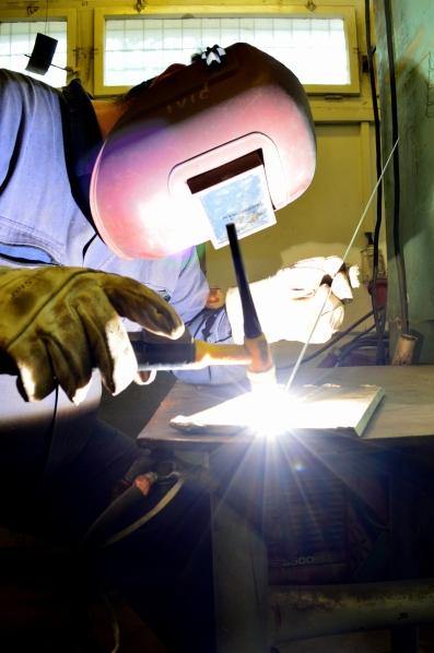 Laboratorij za zavarivanje - zavarivanje TIG postupkom