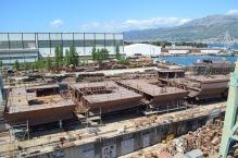 Obrada čelika za Novogradnju 483 - Brodosplit - FOTO Škveranka