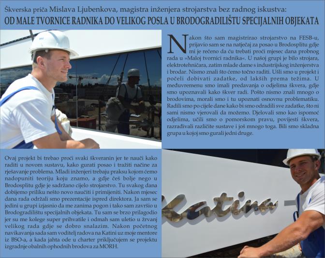 Mislav Ljubenkov - BRODOSPLIT Mala Tvornica Radnika - FOTO Škveranka