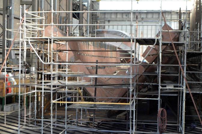 Brodosplit BSO - OOB u izgradnji - FOTO Škveranka