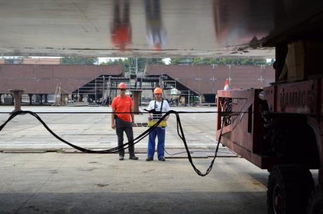 Brodosplit - Projekt Mojsije - Transport, 1.9.2016. - FOTO Škveranka (10)