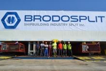 Brodosplit - Projekt MOSE - Transport, 2.9.2016. - FOTO Škveranka