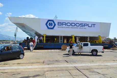 Brodosplit - Projekt Mojsije - Transport, 3.9.2016. - FOTO Škveranka (11)