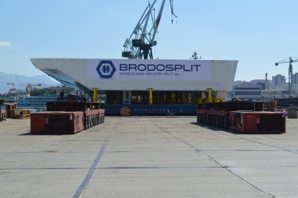 Brodosplit - Projekt Mojsije - Transport, 3.9.2016. - FOTO Škveranka (5)