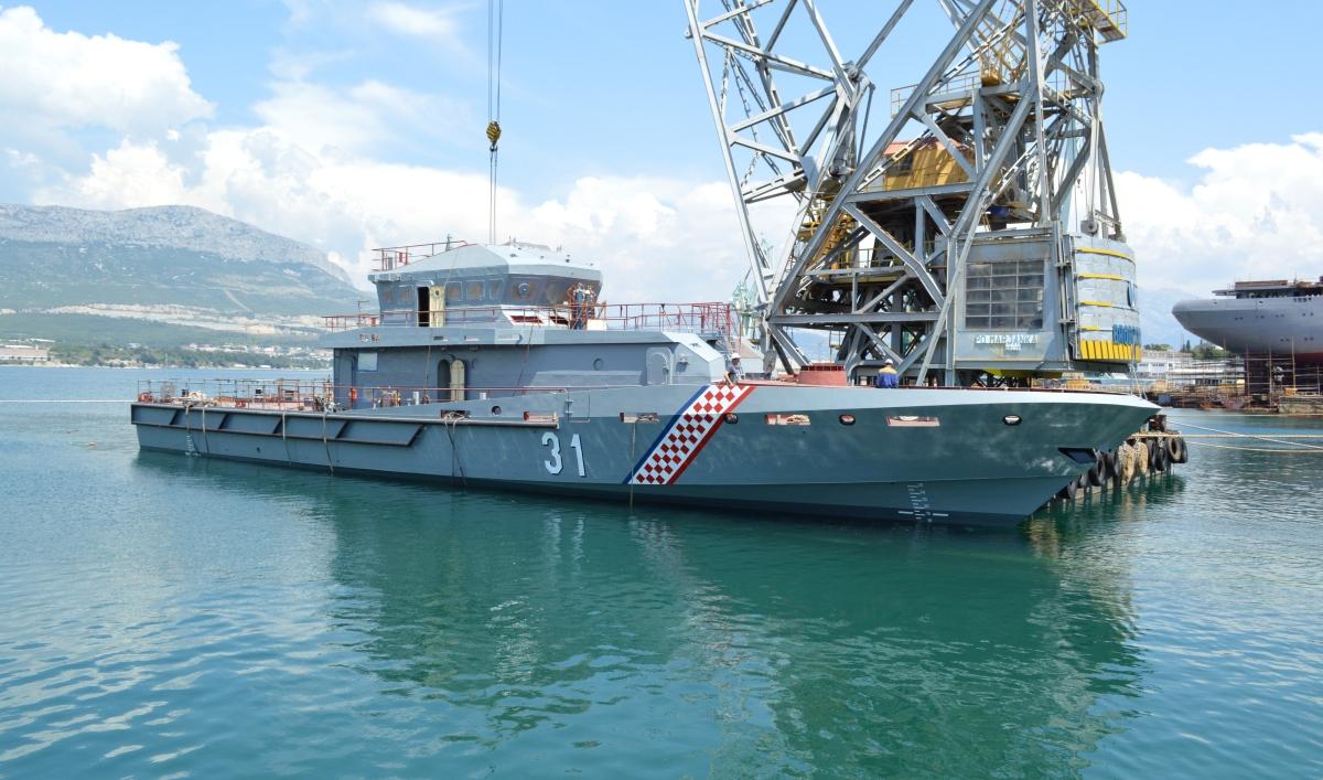 U Brodosplitu porinut obalni ophodni brod