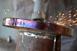 Brušenje detalja cijevi za Nov. 484