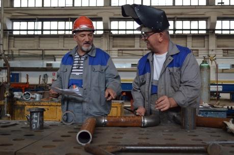 Izrada i kontrola detalja cijevi u Brodosplitovoj radionici za cjevarsku izradu